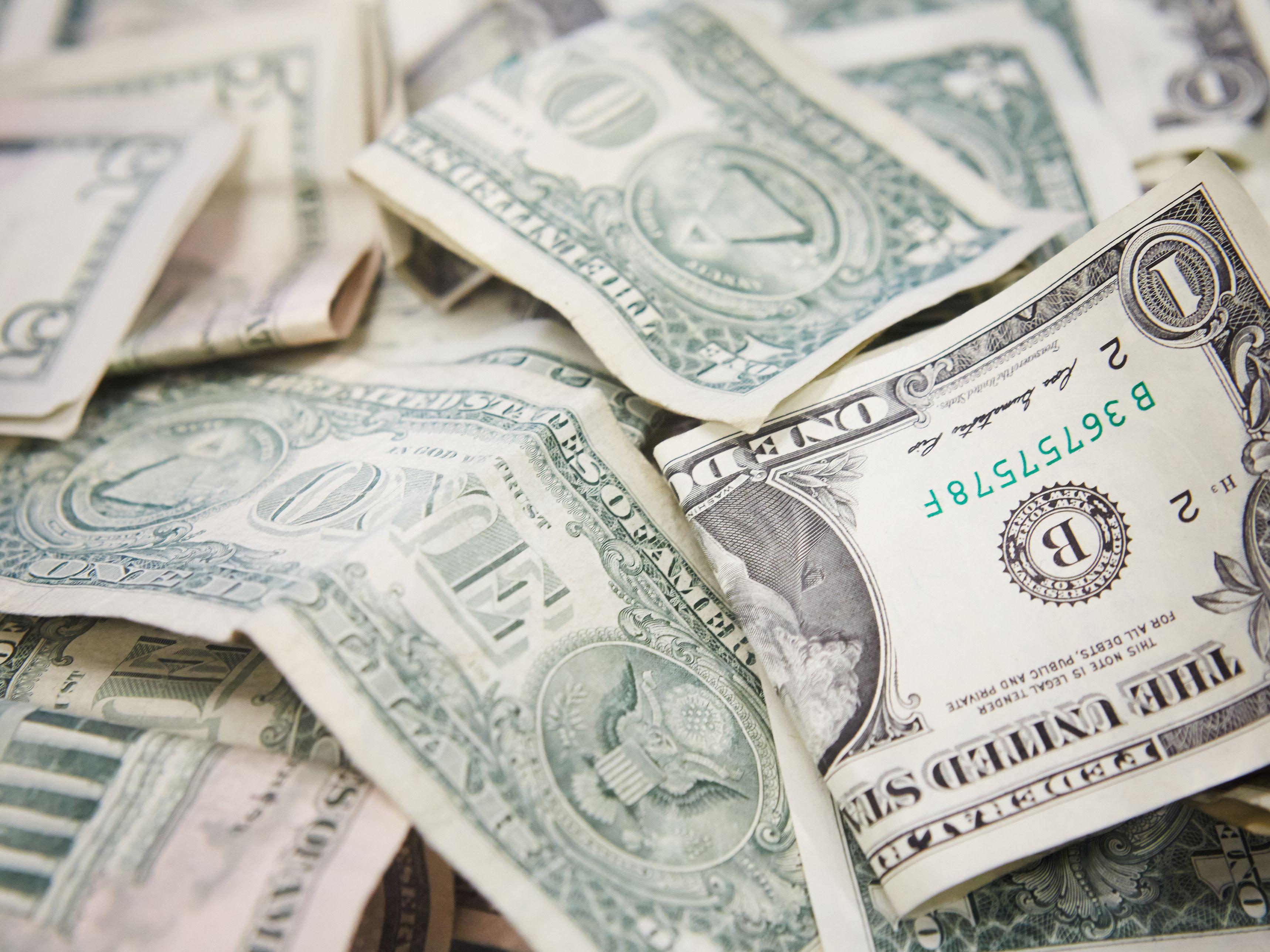 Easy Money Origami Heart Folding Instructions - How to Make Dollar ...   2577x3436