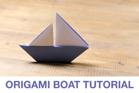 How To Make An Origami Ship Out Of Paper Tutorial Diy T