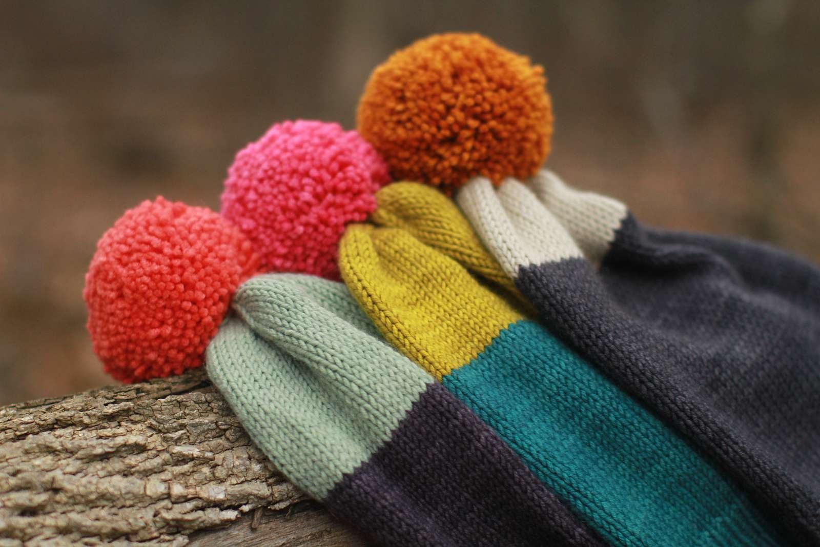 Conversationalist Hat Knitting Pattern