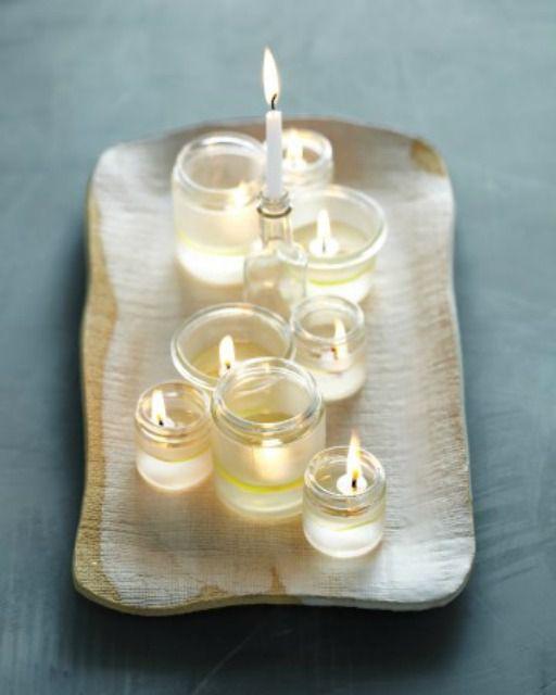 olive oil menorah