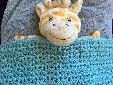 Crochet Doll Blanket Free Pattern