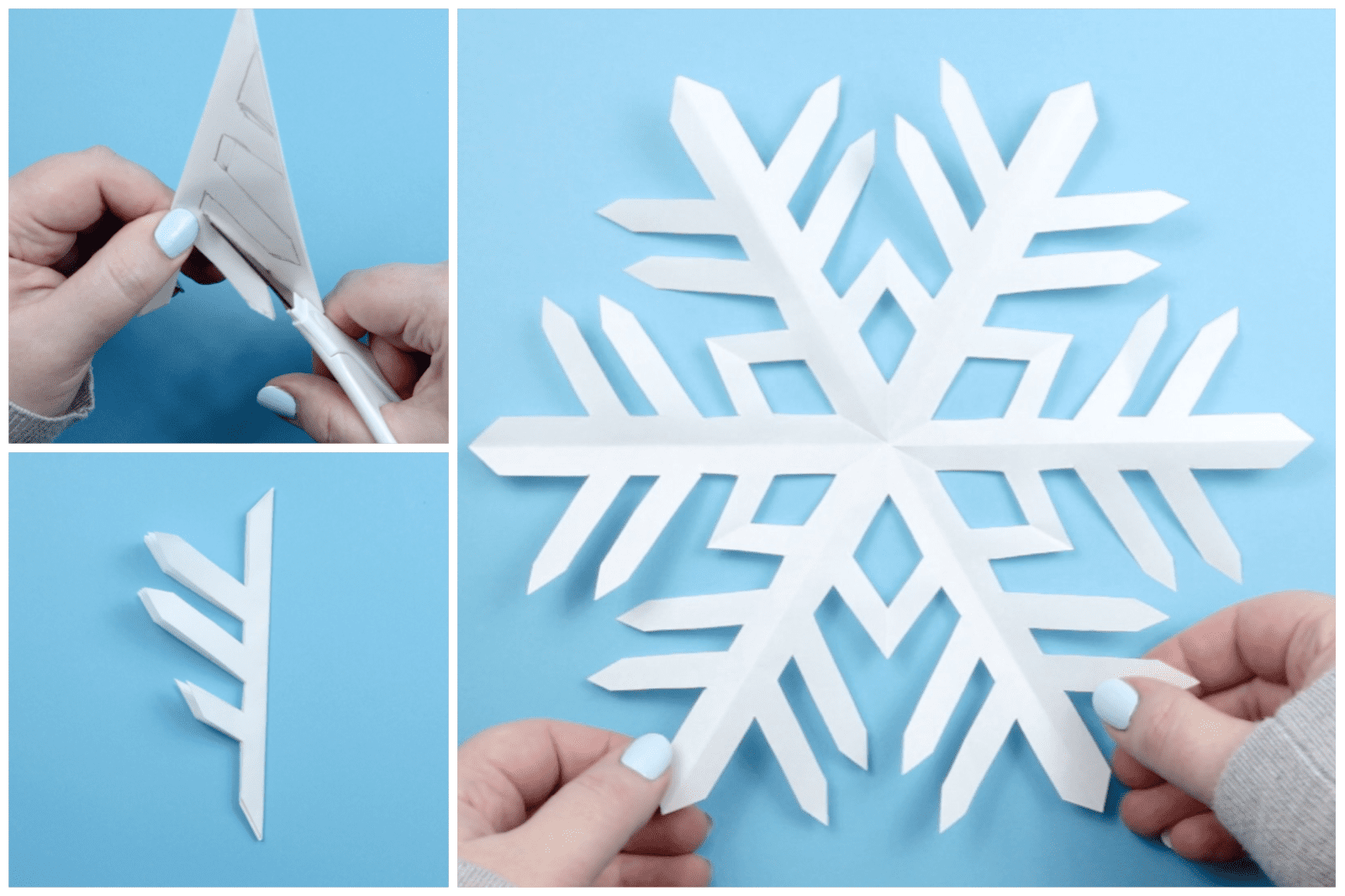 Kirigami Snowflake Instructions 04