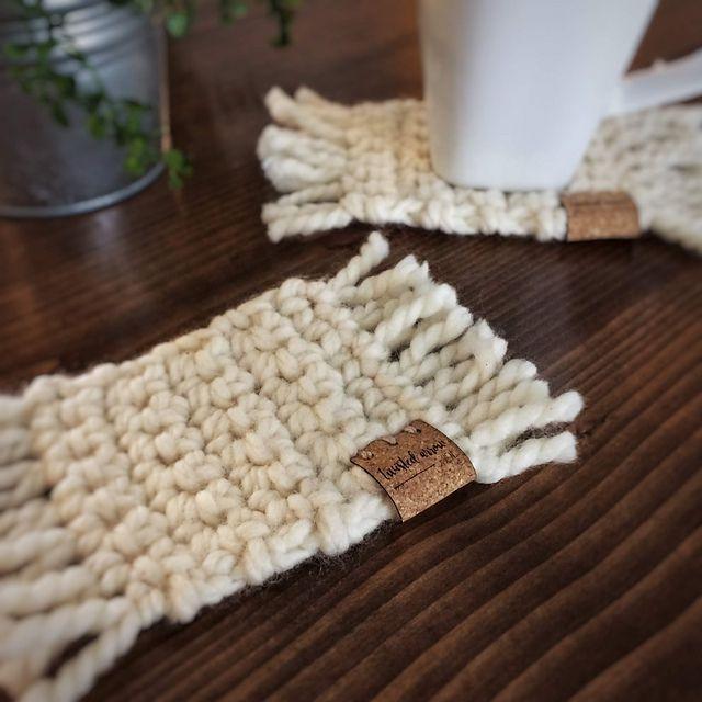 Easy Crochet Coasters Free Pattern