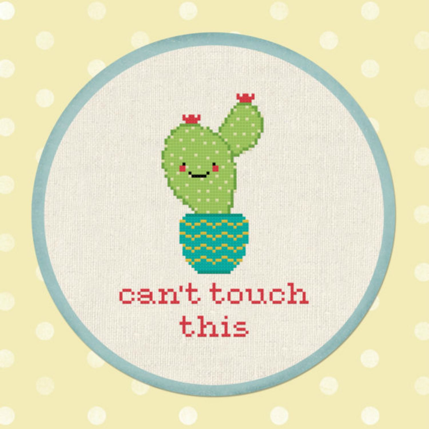 10 Succulent and Cacti Cross-Stitch Patterns