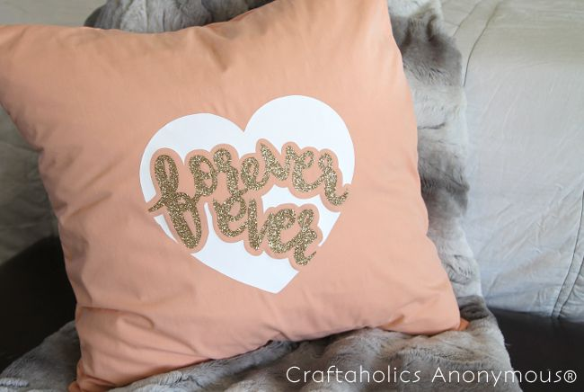 DIY Forever Ever Pillow