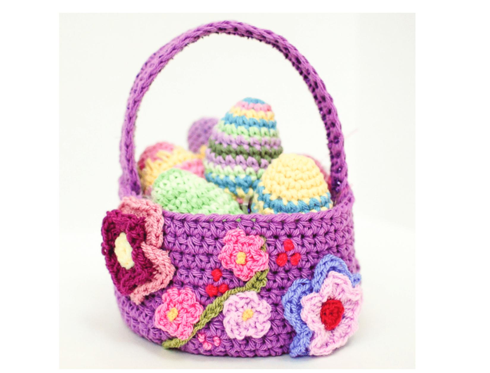 Easter Basket Crochet Pattern