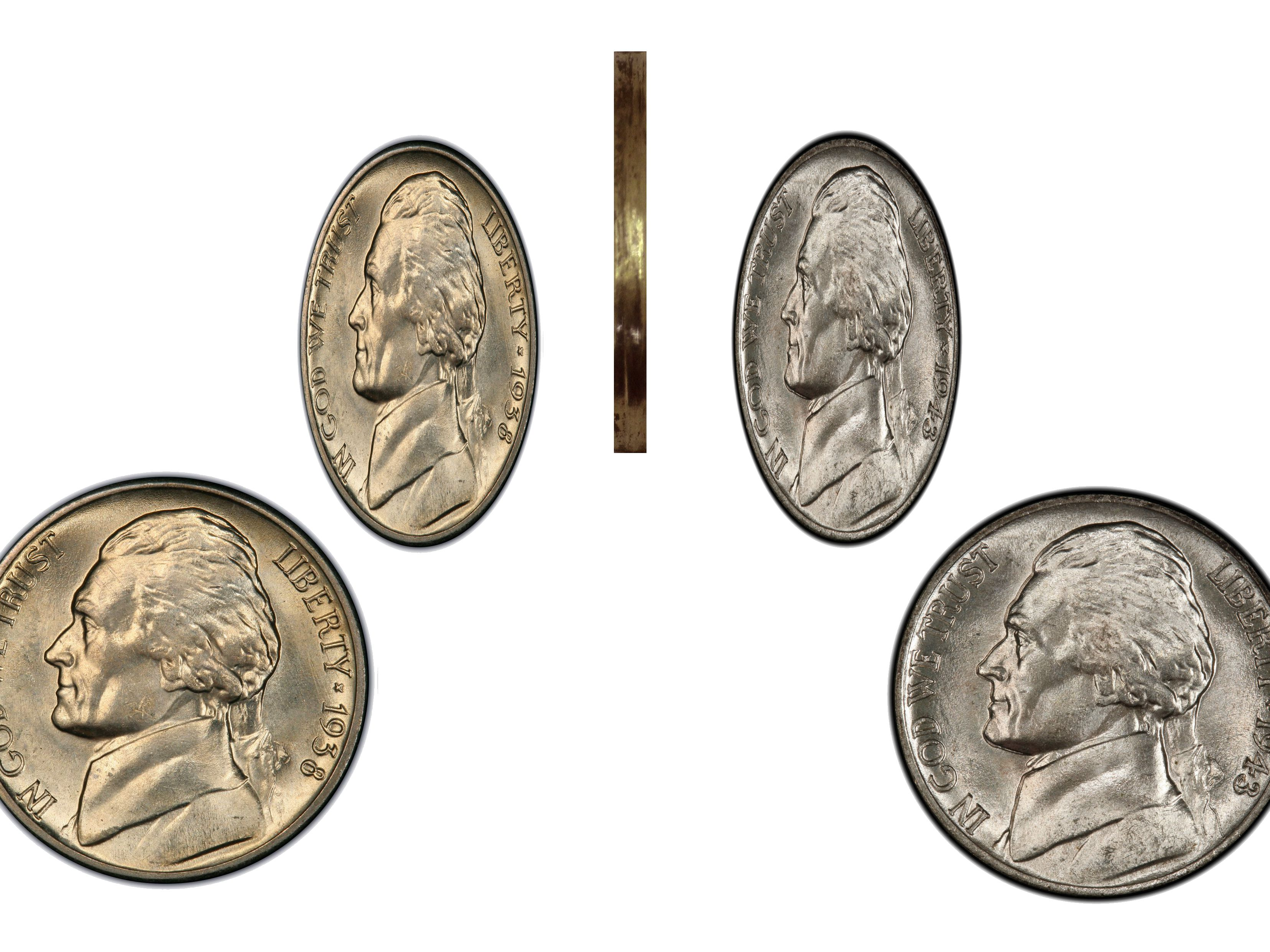 Two Sided Quarter Heads Two Headed Quarter