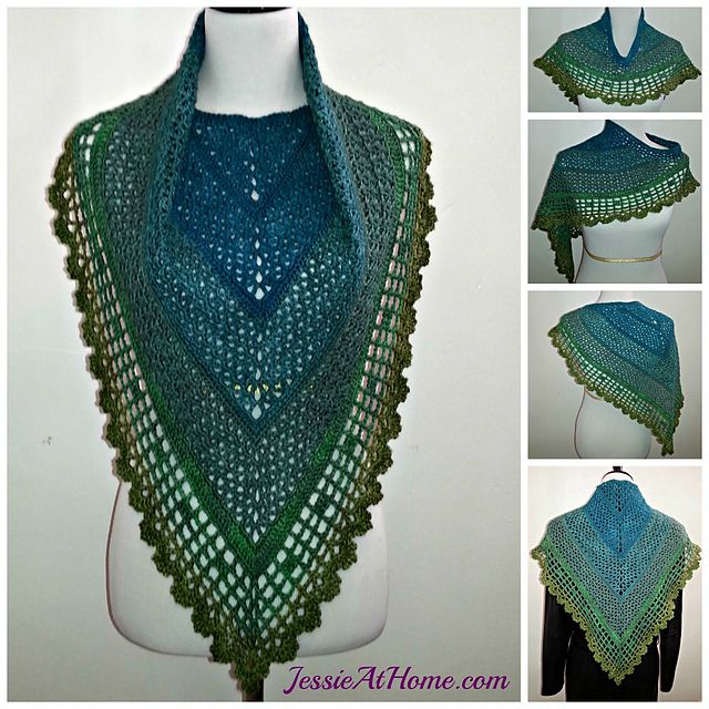 10 Free Crochet Shawl Patterns