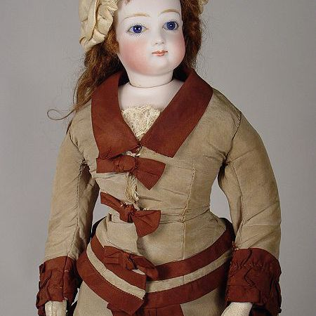 Antique French Doll by Barrois