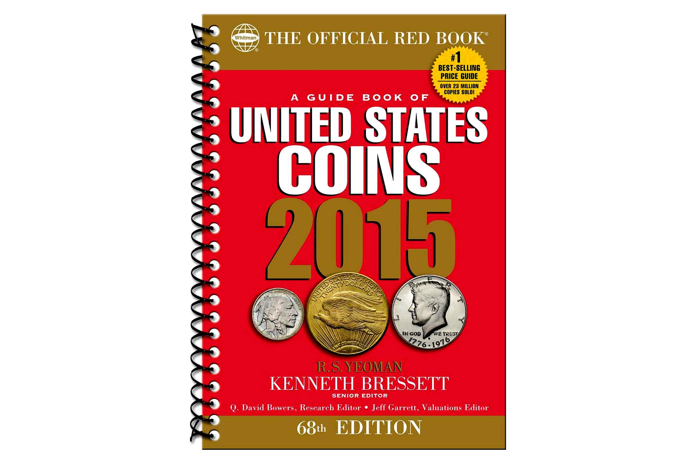 A Guide Book of United States Coins 2015: The Official Red Book Cover
