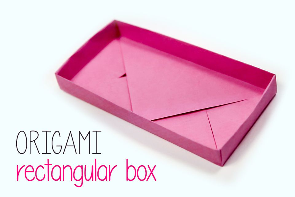 Rectangular Origami Box Instructions