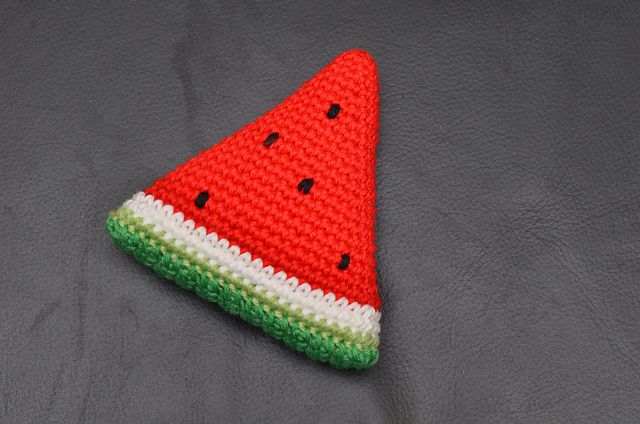 Adorable Mia's Watermelon Dress Crochet Pattern (Just Clothes) By ... | 424x640