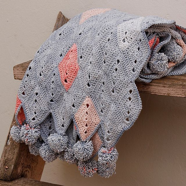 Casablanca Blanket Free Crochet Pattern
