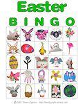 Easter Printable Bingo Cards