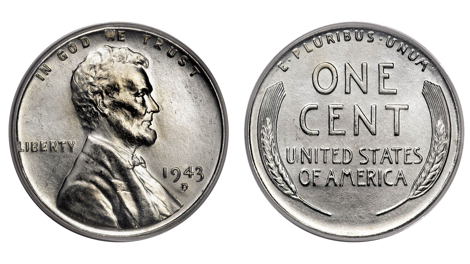 "1943-P,D /& S   @  3 *SUPER/"" Lincoln Penny,s"