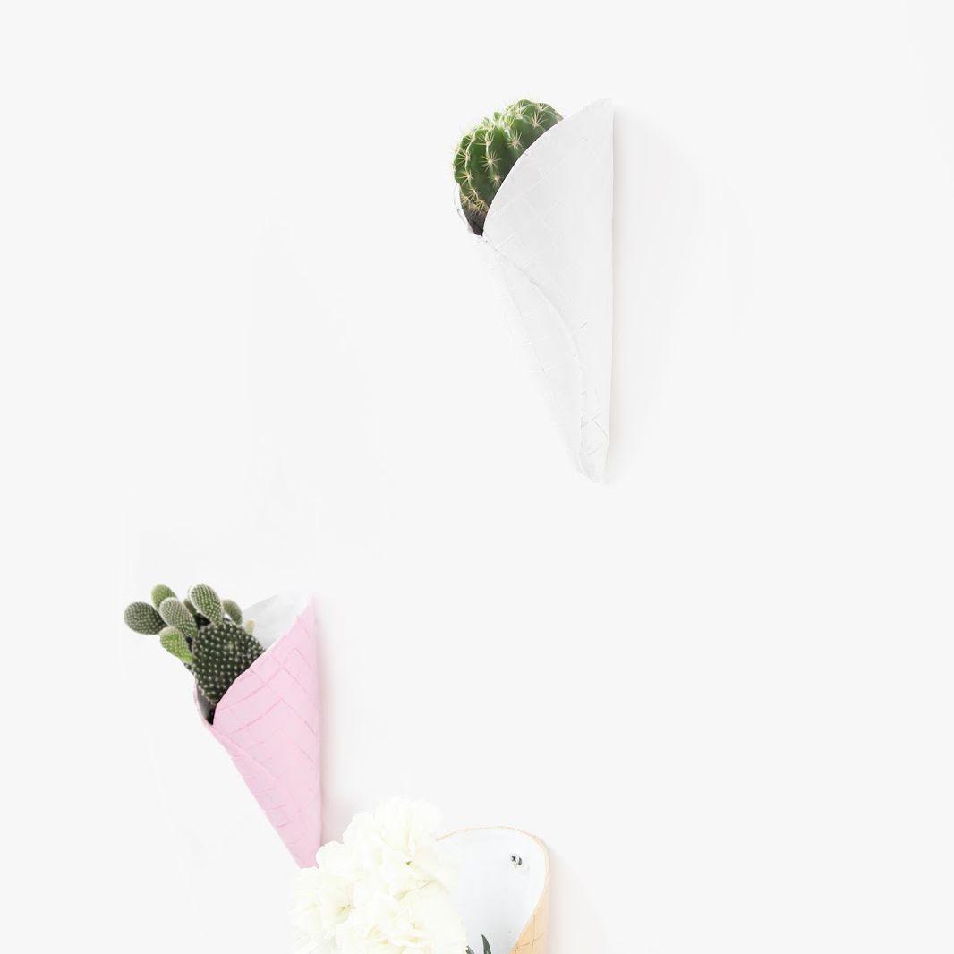 Ice Cream Cone Planters