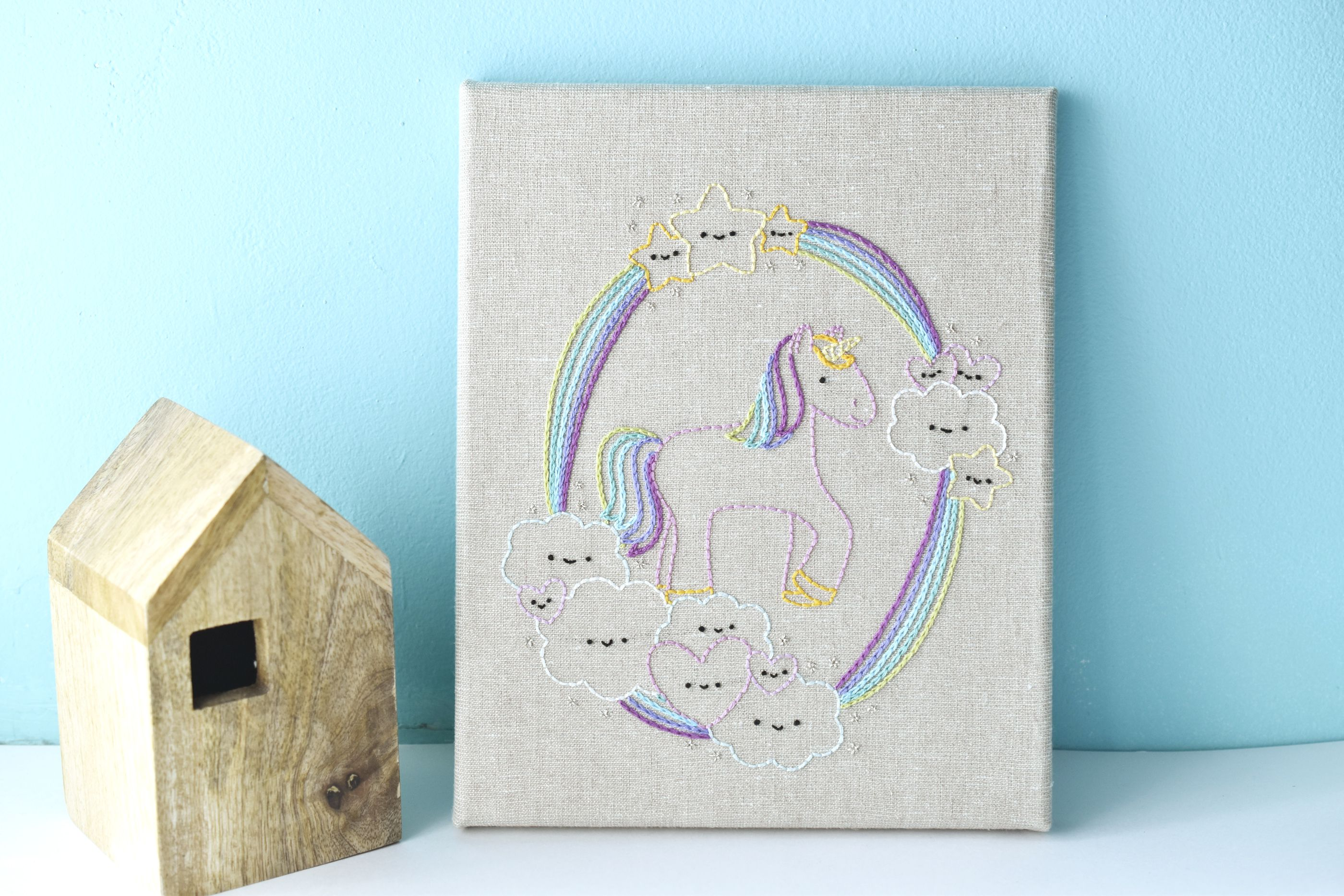 Display Your Finished Stretched Canvas Embroidery