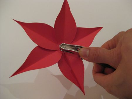 Gather materials for the poinsettia flowers how to make a poinsettia flower mightylinksfo