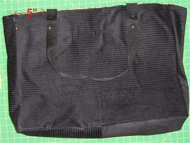 tote bag with straps