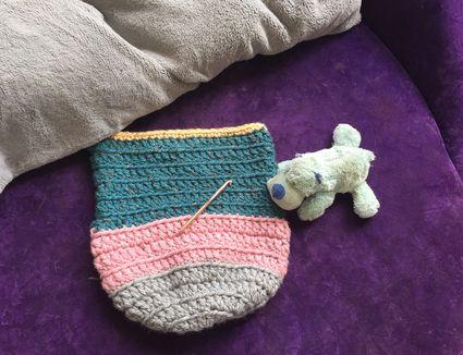 crochet baby cocoon pattern