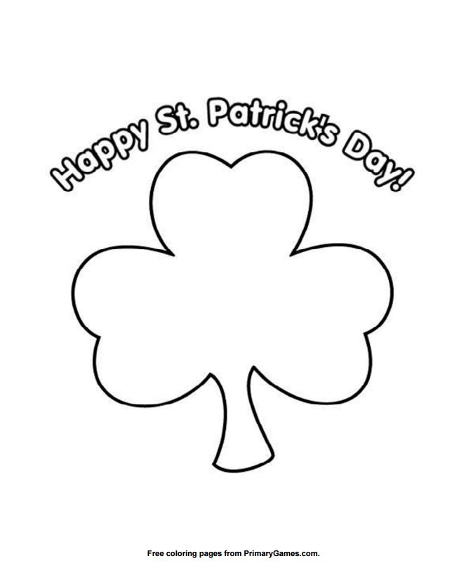 271 free printable st patrick s day coloring pages