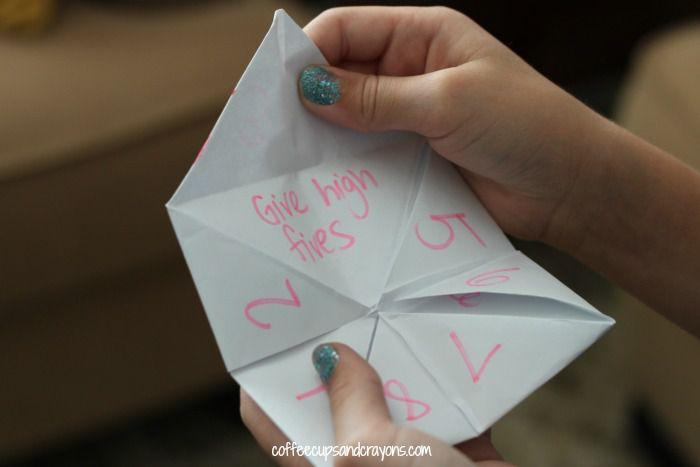 Printable Paper Fortune Tellers | 467x700