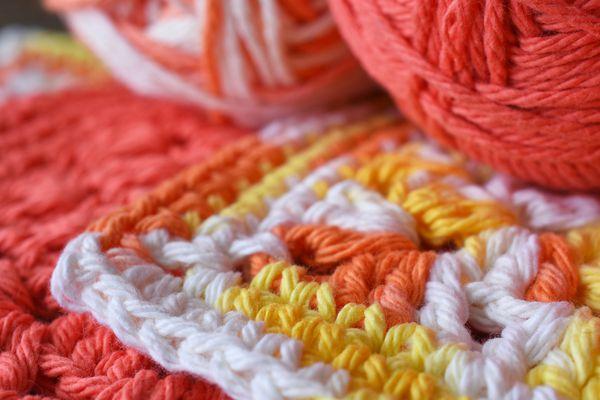 Crochet Dishcloths and Crochet Hooks