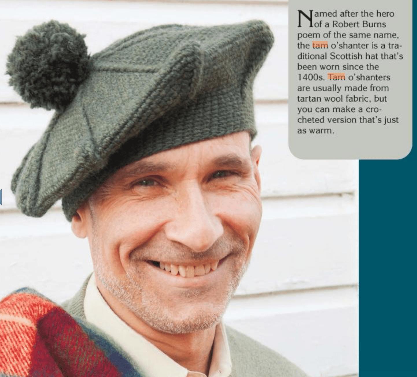 3 Vintage-Inspired Men s Crochet Hat Patterns f5a3c6f4b54