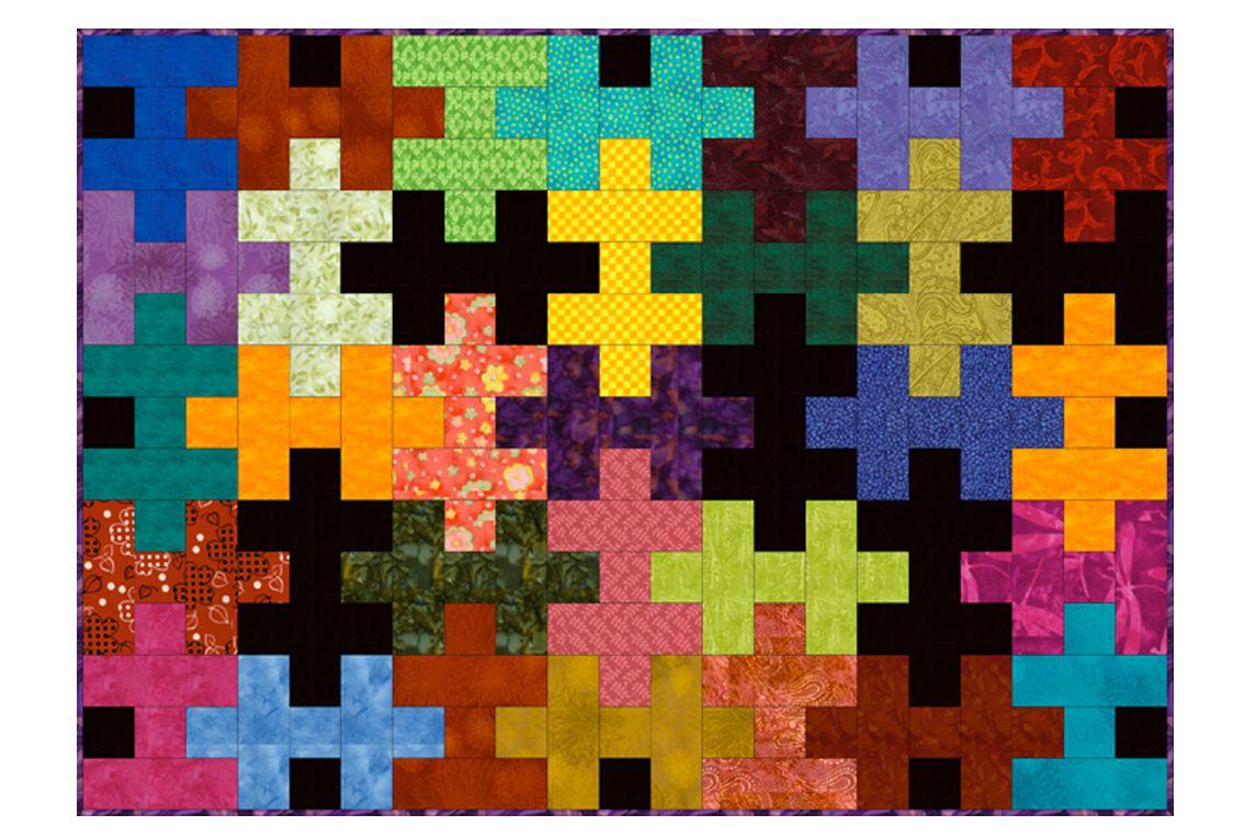 Jigsaw Puzzle Quilt