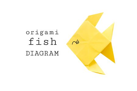 Traditional Origami Fish Instructions