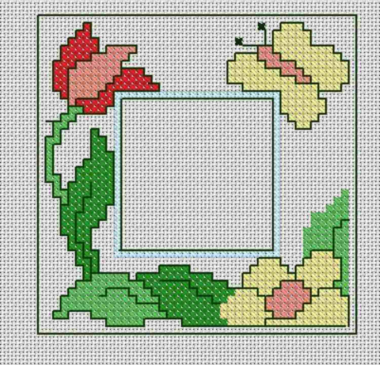 7 Cross Stitch Border Patterns