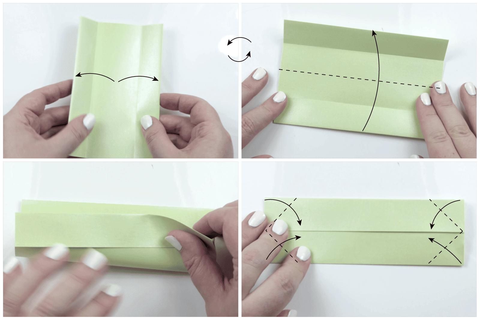 modular origami lotus 5