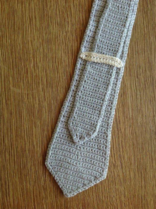 Skinny Crochet Tie Free Pattern