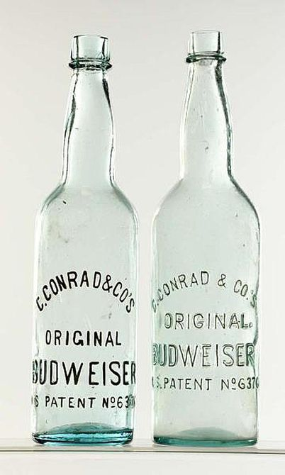 Conrad Budweiser Beer Bottles