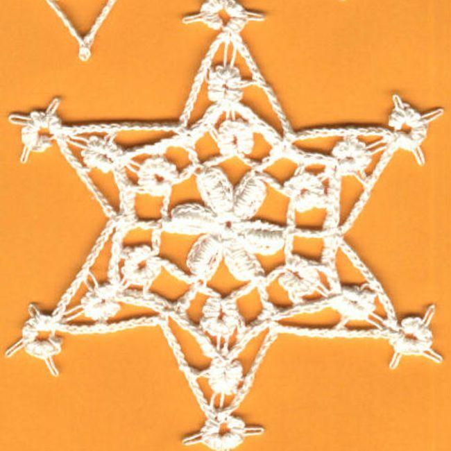Croat snowflake with bullion