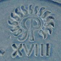 Rookwood Pottery Reverse RP Mark