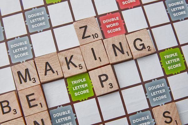 Scrabble three letter Z word