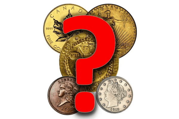 a sampling of some of the rarest and most expensive coins in the world