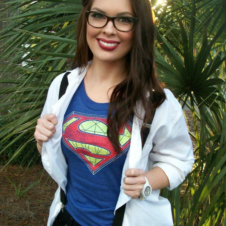 diy super woman costume