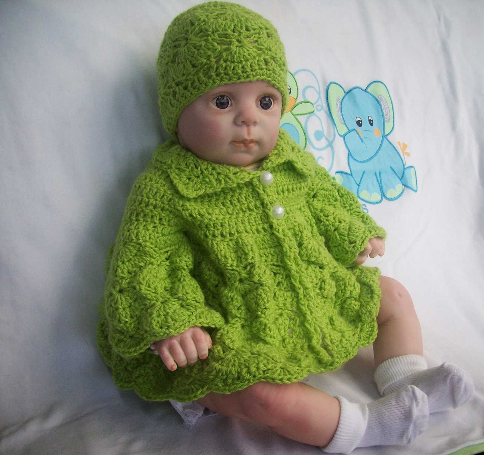 15 Free Baby Sweater Crochet Patterns