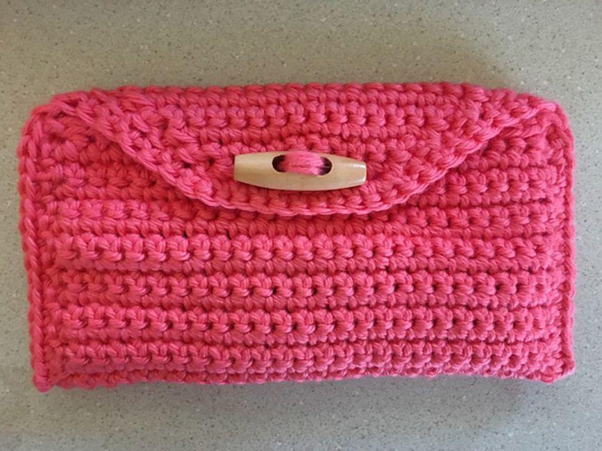 Single Crochet Clutch Purse Free Pattern