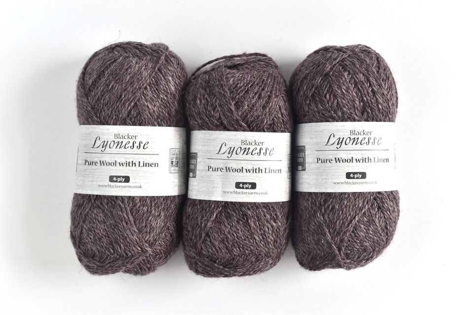 4-Ply Blacker Yarns by Lyonesse
