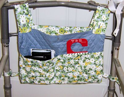 Free Pattern To Sew A Walker Bag Customized Caddy Debbie Colgrove Licensed About