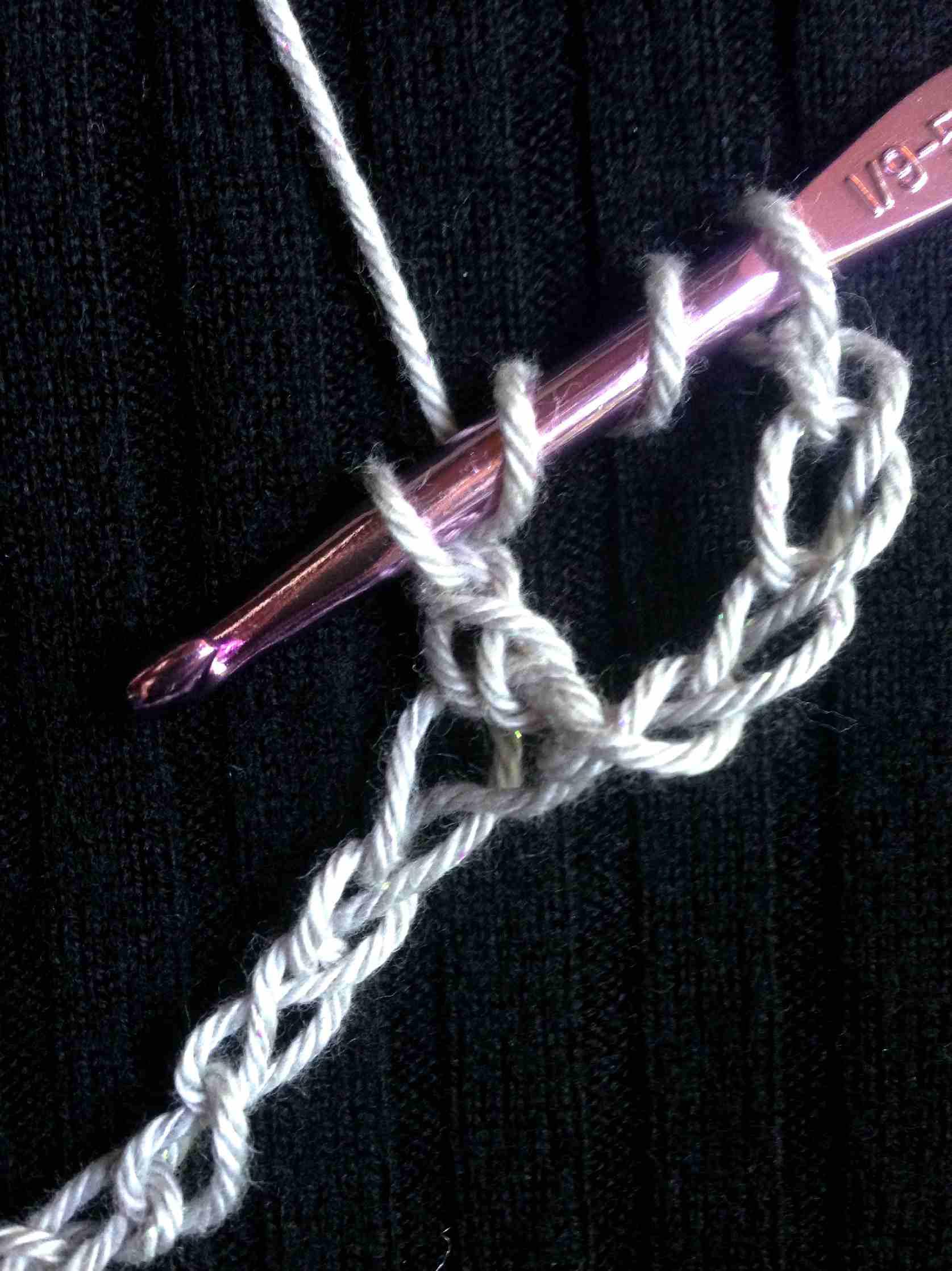 DTR Crochet: Step Four