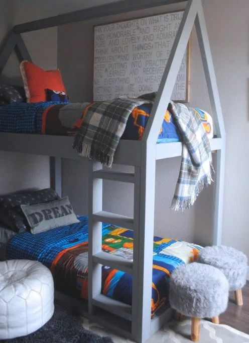 11 Free Diy Bunk Bed Plans You Can Build This Weekend