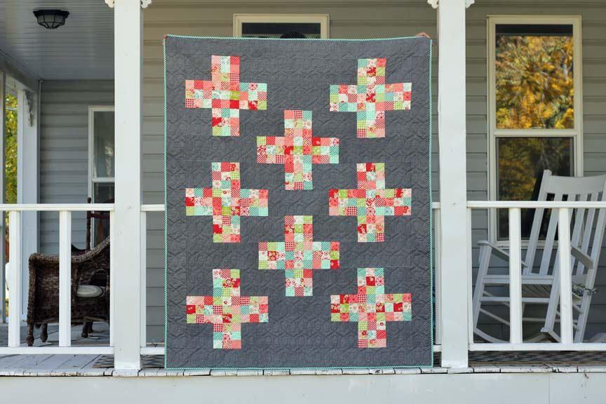 Nine Patch Plus Quilt Pattern