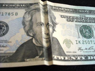 Folded bill