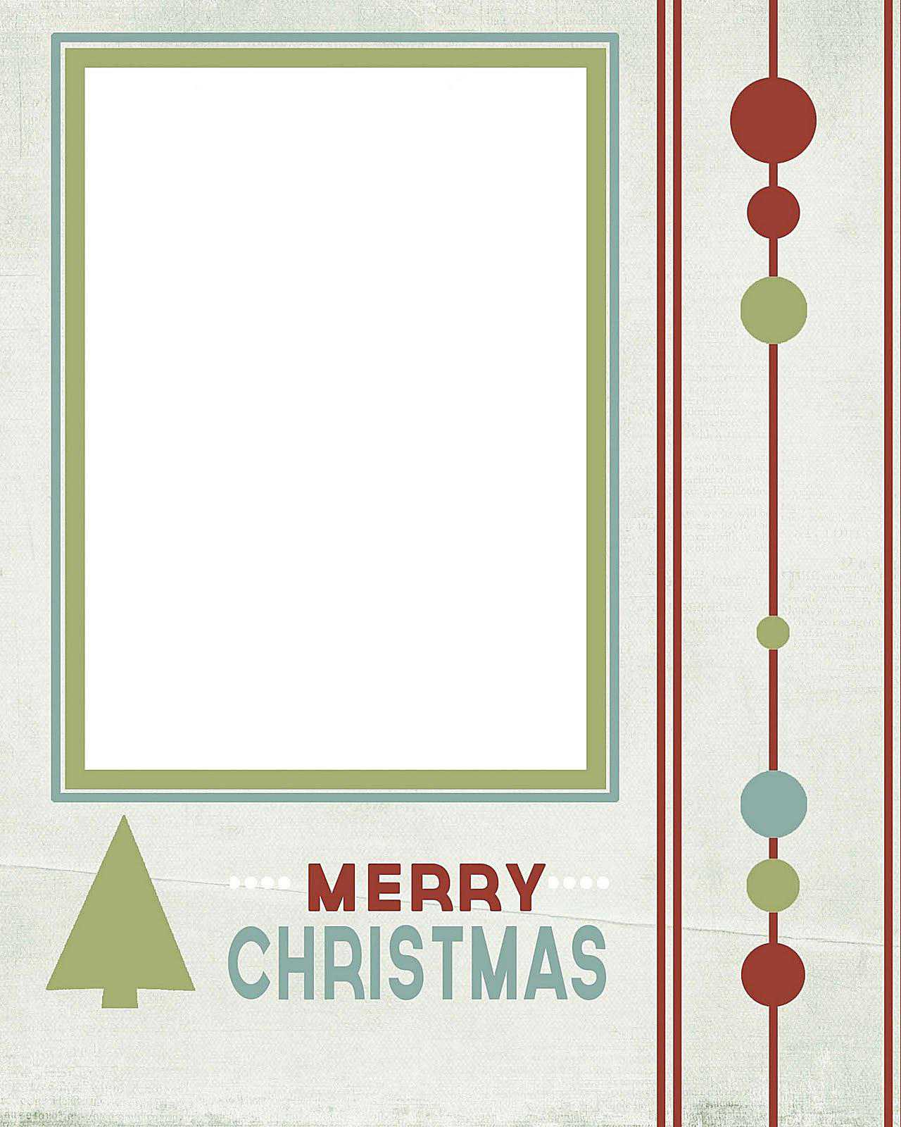 11 free christmas card templates for photo cards