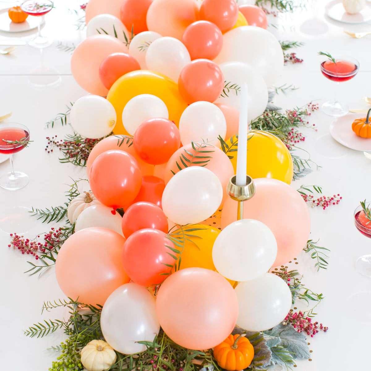 balloon party centerpiece