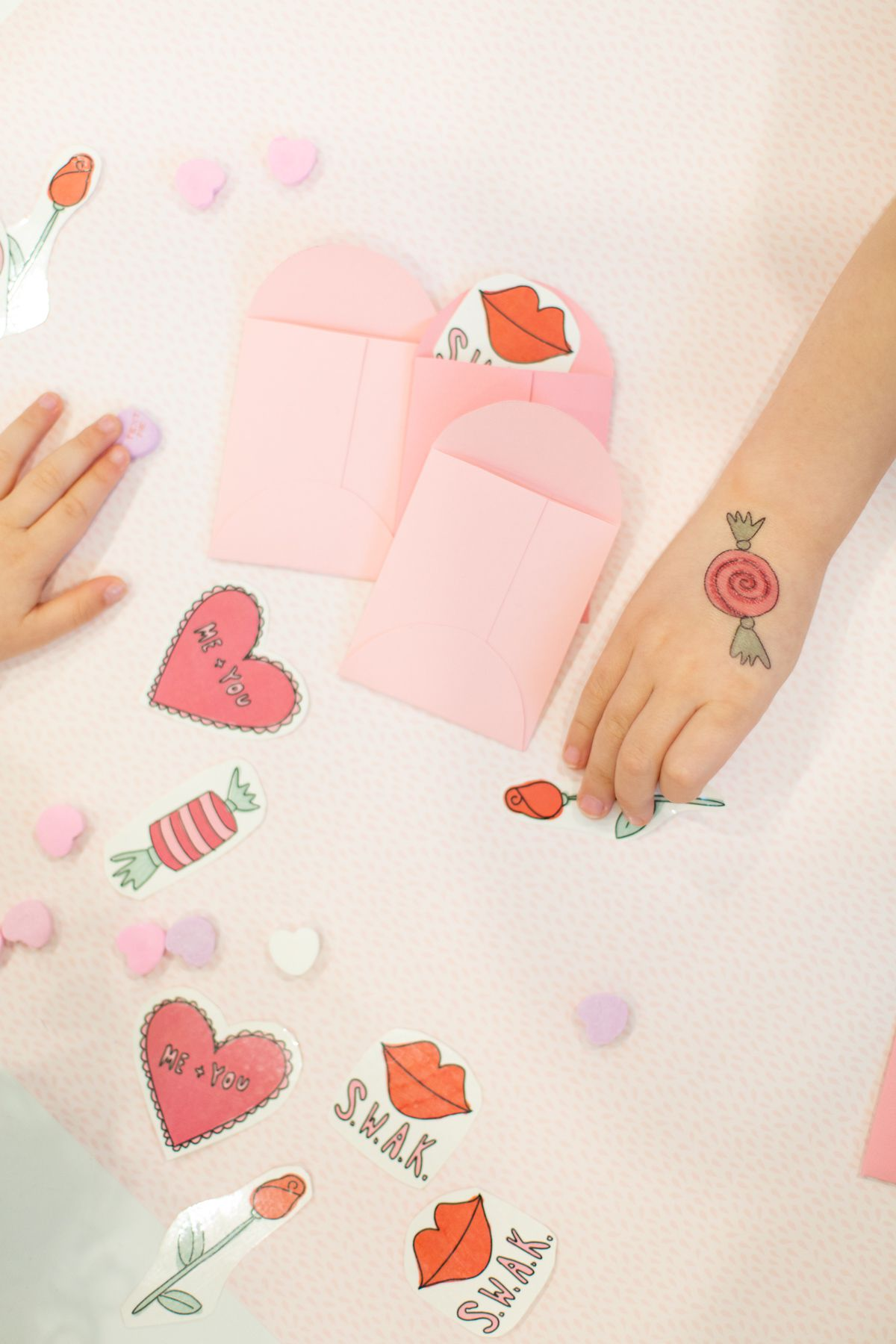 Printable Valentine's Day tattoos